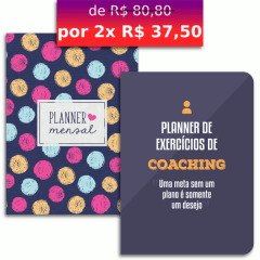 KIT PLANNERS - BOLINHAS E COACHING